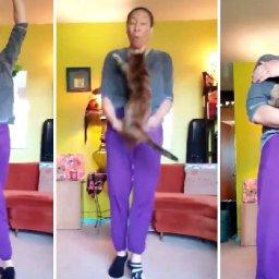 mischievous-cat-rudely-interrupts-ballet-teachers-at-home-dance-class